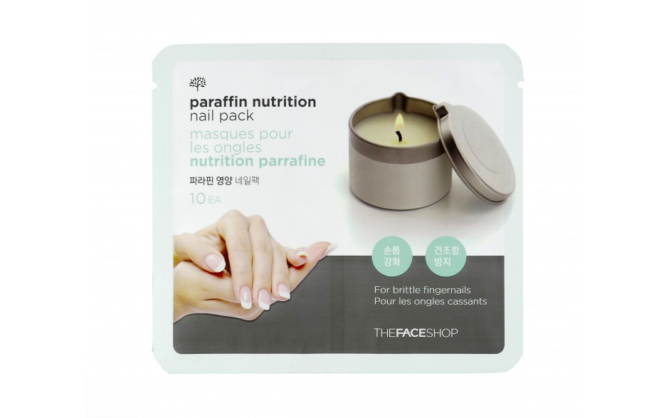 Mặt Nạ Móng The Face Shop Paraffin Nutrition