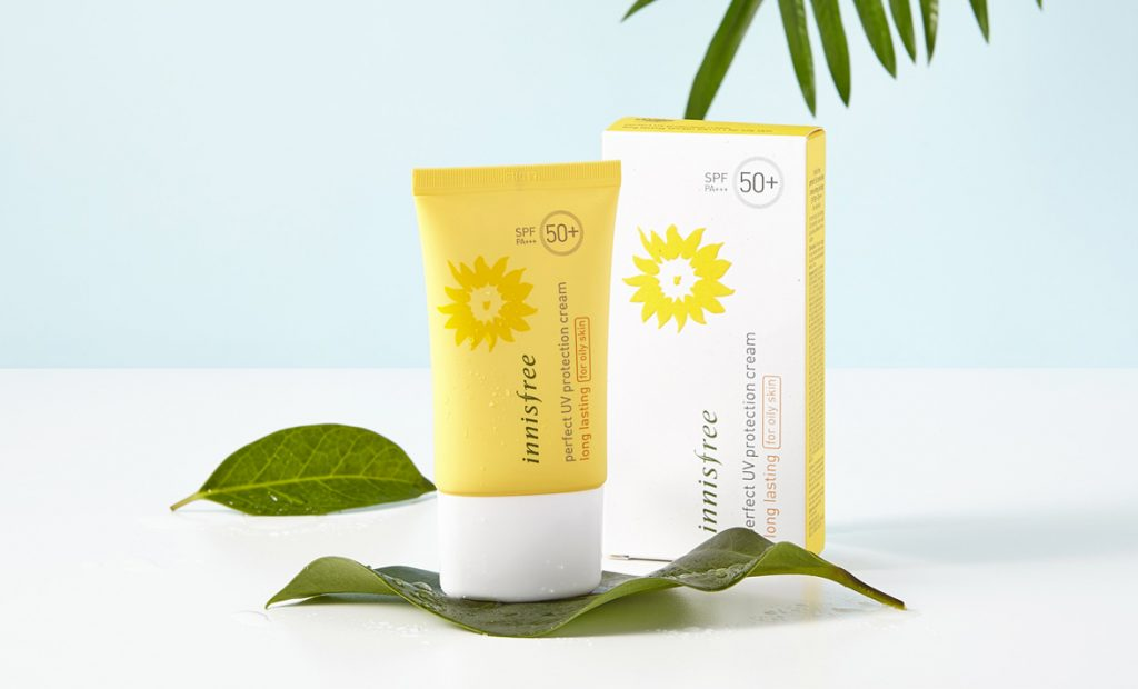 Kem Chống Nắng Innisfree Perfect UV Protection Cream Long Lasting #OilySkin