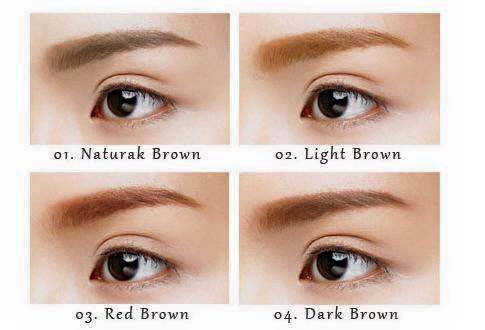 Mascara mày Etude House Color My Brows 04 Natural Brown